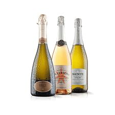Virgin Wines Super Sparkling Trio with Prosecco