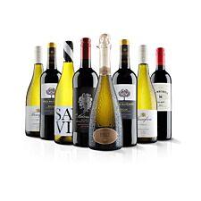 Virgin Wines 8 Bottle Luxury Mixed Selection
