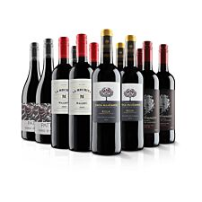 Virgin Wines Luxurious 12 Bottle Red Selection