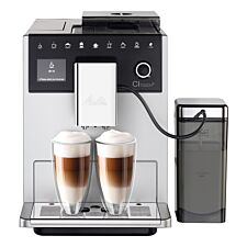 Melitta ML1410 Ci Touch Bean–to–Cup Coffee Maker – Silver & Black