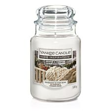 Yankee Candle Home Inspiration Large Jar Candle - Jasmine & Cashmere