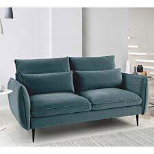 Rhonda 2 Seater Sofa - Malta Peacock Teal