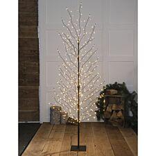 2m Noma Antique LED Wispy Black Tree