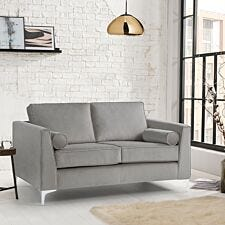 Milan Icon 2 Seater Sofa Malta Grey