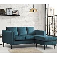 Rio Corner Chaise Sofa - Malta Peacock