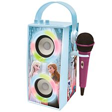 Lexibook Disney Frozen II Portable Bluetooth Speaker with Lights & Microphone
