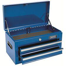 Draper 2 Drawer Tool Chest / Tool Box - Blue