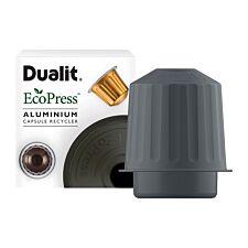 Dualit Ecopress Aluminium Capsule Recycler - Aluminium
