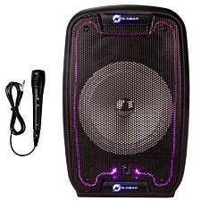 N-GEAR THE FLASH 810 Portable Bluetooth Trolley Speaker with LED Lights - 150W