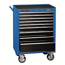 "Draper 26"" Roller Cabinet (9 Drawer) - Blue"