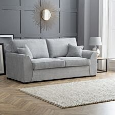 Zara 3 Seater Sofa Dot Grey