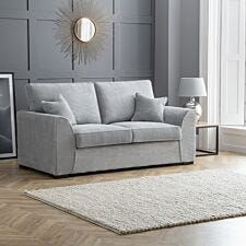 Zara 2 Seater Sofa Dot Grey