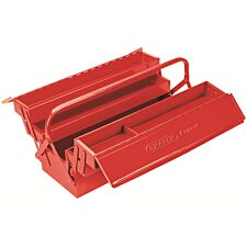 Draper Expert 530mm Extra Long Four Tray Cantilever Tool Box - Red