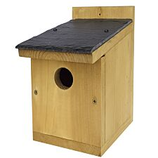 Johnston & Jeff Classic Nest Box with Slate Roof