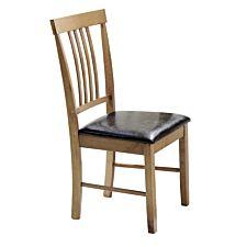 Set Of 2 Massa Oak Dining Chairs