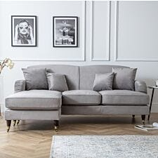 Oxford Corner Chaise Malta Grey