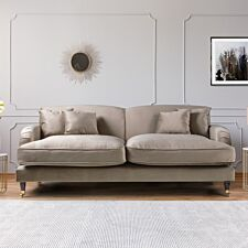 Oxford 3 Seater Sofa Malta Putty