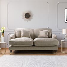 Oxford 2 Seater Sofa Malta Putty