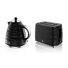 Swan STP3050BN Symphony Kettle and Toaster Twin Pack - Black