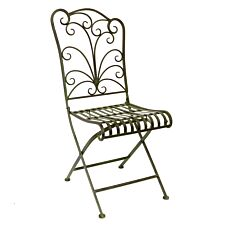 Lucton Furniture Metal Chair - Green