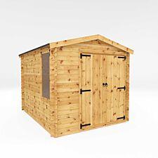 Mercia 3.3m x 2.6m Log Cabin Workshop - 19mm