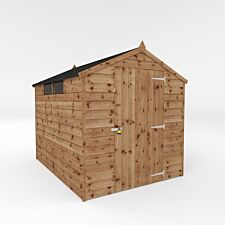 Mercia 8' x 6' Pressure Treated Security Apex