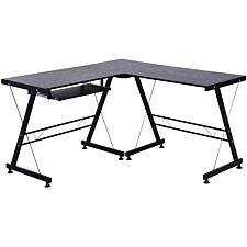 Zennor Arpina Corner Desk - Black