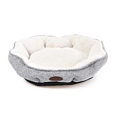 Charles Bentley Medium Soft Pet Bed - Grey