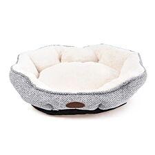 Charles Bentley Large Soft Pet Bed - Grey
