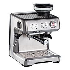 Ariette AR1313 Metal Espresso Coffee Maker With Grinder - Stainless Steel