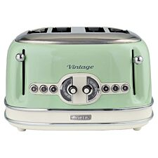 Ariette AR5604 Vintage 4-Slice Toaster - Green