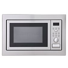 Montpellier MWBI90025 1000W 25L Built-In Digital Microwave & Grill - Stainless Steel