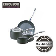 Circulon Excellence 4 Piece Pan Set - Grey