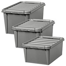 Orthex SmartStore Recycled Storage Box - Set of 3