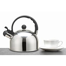 KitchenCraft Le'Xpress Stainless Steel Whistling Kettle - 1.3L