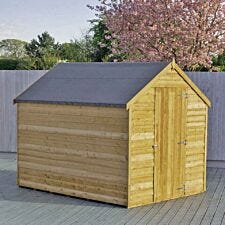 Shire Overlap Value Shed - 6 ft x 8 ft