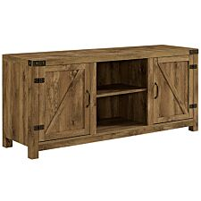 "58"" Farmhouse TV Stand - Barnwood"