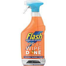 Flash Kitchen Spray Wipe Done – Mandarin 800ml
