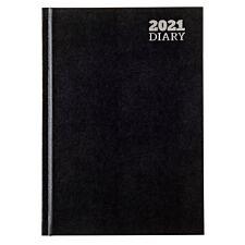 Ryman Diary Week to View A5 2021 - Black