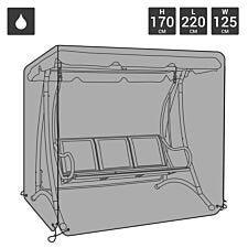 Charles Bentley Waterproof 3 Seater Swing Chair Cover - Black