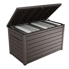 Keter XXL 870L Deck Storage Box - Brown