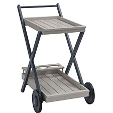Florenity Galaxy Drinks Trolley - Grey