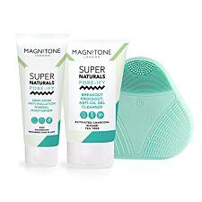 Magnitone MSSKGP04V SuperNaturals Pore-ify Sonic Pure Set - White/Green