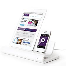 Quirky Converge Docking Station for Viewable Charging - White
