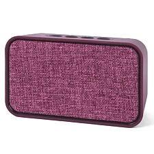 Intempo EE3851BRYTES Encore Bluetooth Fabric 6 W Speaker - Berry