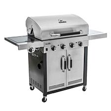 Char-Broil Advantage 445S 4 Burner Gas BBQ Grill - Stainless Steel