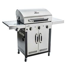Char-Broil Advantage 345S 3 Burner Gas BBQ Grill - Stainless Steel