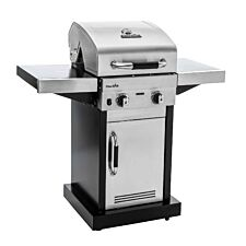 Char-Broil Advantage 225S 2 Burner Gas BBQ Grill -  Stainless Steel