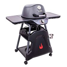 Char-Broil All-Star 125 Electric BBQ Grill - Graphite