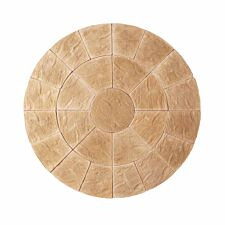 Kelkay Abbey Circle Paving Kit 2.4m - York Gold